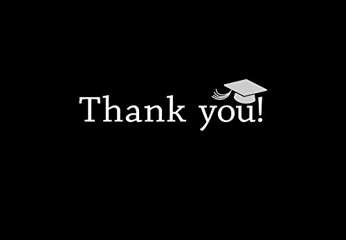 Graduation Thank You Notes (Great Papers! Classic Grad Thank You Note Cards and Envelope - 4.875