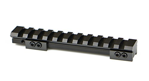 Warne 4007495 Ruger Mini 14/30 Ranch Rail Matte Aluminum (Best Scope Ruger Mini 30)