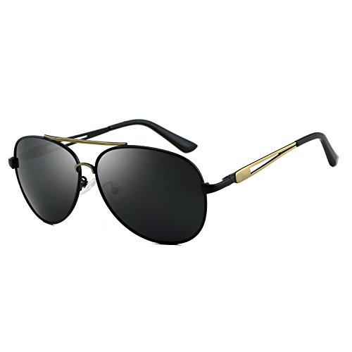 Gold de polarizadas aviación Sol de Gafas Accesorios Tonos Marca Gafas para Retro JCH Vintage Sol de Hombres diseñador Gafas AUq4tw5