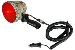 35W HID Camouflage Handheld Hunting Spotlight - Pistol Grip - 12V - 2000'+ Spot Beam - 3200 Lumen(-1