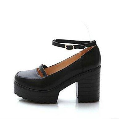 LvYuan black Femme Noir à cm Confort Décontracté 12 Confort ggx Printemps 10 à Talons Chaussures Polyuréthane BFrZBxwqg