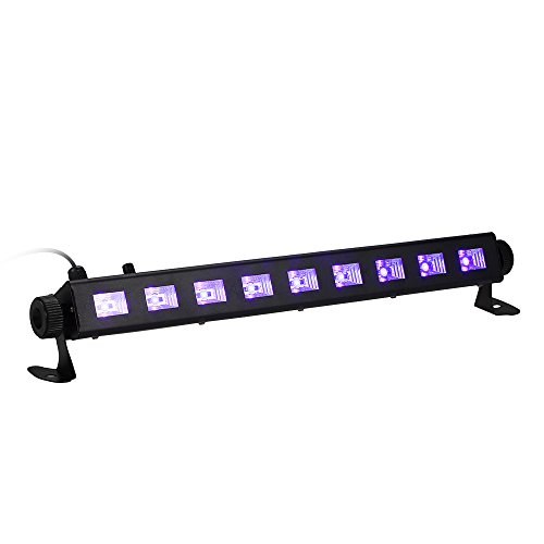 Tomshine LED UV Bar Black Light Fixture 9LEDx3W...