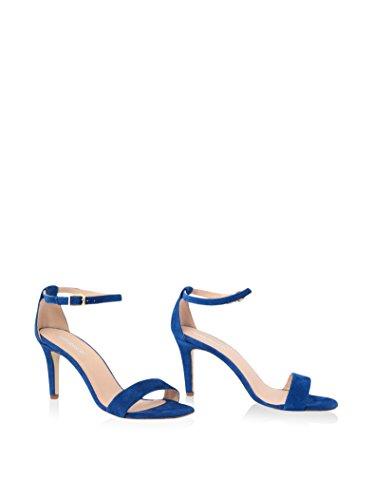 GIANNI GREGORI Sandalias de tacón Azul EU 38