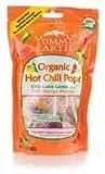 Yummy Earth 0273979 Organic Hot Chili Lollipops - 3 oz by YummyEarth