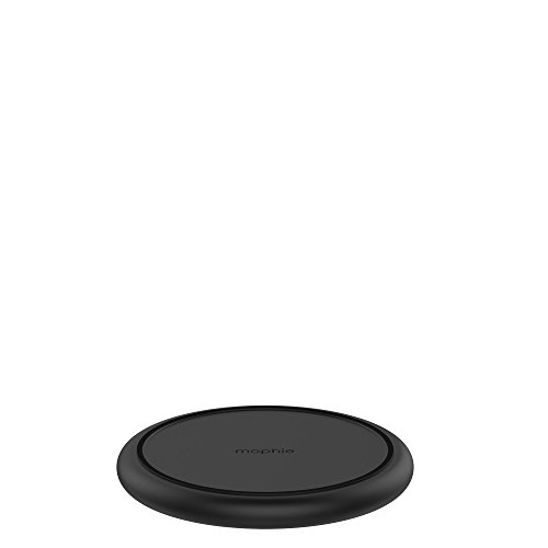 mophie Charge Stream Pad+ - 10W Qi Wireless Charge Pad - Made for Apple iPhone Xr, Xs Max, Xs, X, 8, 8 Plus, Samsung, and Other Qi-Enabled Devices - Black