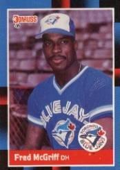 Amazoncom 1988 Donruss Baseball Card 195 Fred Mcgriff
