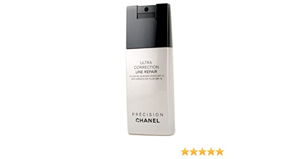 08d487040f19 Amazon.com : CHANEL Precision Ultra Correction Line Repair Anti-wrinkle Day  Fluid Spf15 : Facial Treatment Products : Beauty