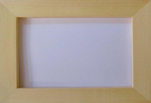 無塗装白木素材 フォトフレームLL cw-783 130×190