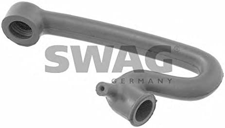 SWAG Crankcase Breather Hose compatible with Mercedes W126 W123 W116 S123 C123 1100942482