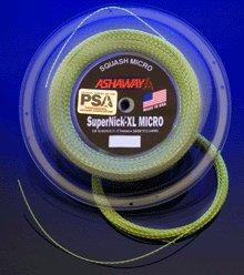 Ashaway Supernick XL Micro Squash String (1 reel – 360 FT)