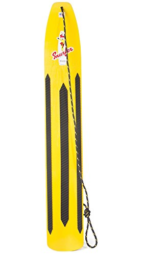 Balance Snowboard Bindings - Snurfer Classic Snow Board Sunburst Yellow