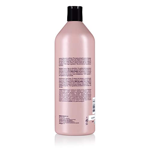 Pureology Pure Volume Conditioner   For Flat, Fine, Color-Treated Hair   Restores Volume & Movement   Sulfate-Free   Vegan 9