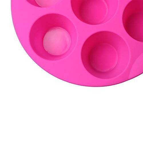 7 Hole Silicone Egg Bites Molds for Instant Pot Accessory for 5,6,8 qt Pressure Cooker, Reusable Storage Container, Best gift for Kitchen, Baking, Kids, Children. (random color Pink or green) by RUN-snail (Image #6)