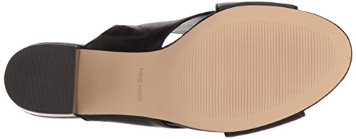 Leather Women Black Freddius West Sandal Nine qBCxwRZv