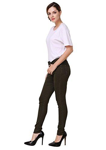 Zipper Pocket Denim Flare Pant - 4