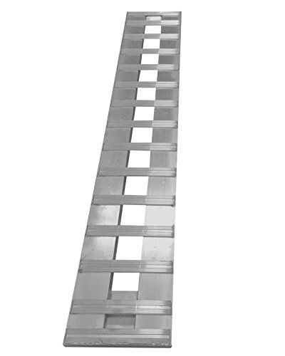 Aluminum Trailer Ramps (7' Aluminum Ramp Car ATV truck trailer Ramp 1 RAMP = 3000lb Capacity 84