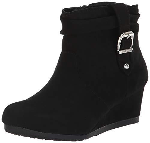 Nine West Girls' KATYAH Ankle Boot, Black, M050 M US Little - Rubber Boots Nine West