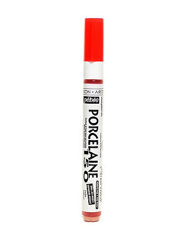 Pebeo Porcelaine 150 Markers scarlet red fine [PACK OF 3 ] (Drawing Pebeo)