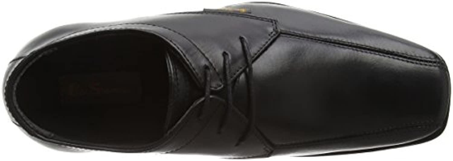 Ben Sherman Boys' Dexi Loafers, Black (Black 001), 3 Child UK 36 EU