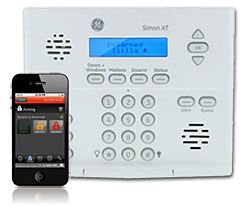GE Simon XT Wireless Alarm System with Interactive Wireless Service via Web and Smart Phone, iPhone, iPad, Blackberry or Android! by SafeMart