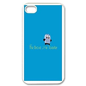iPhone 4,4S Cess Phone Case White Brave Little Toaster NF3661668