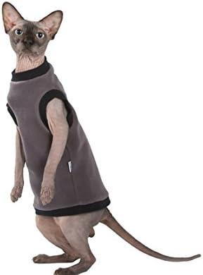 Kotomoda Cat's Pullover Taupe Fleece 17