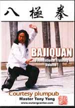 Bajiquan Foundational Training Vol. 1