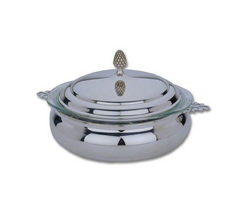 Reed & Barton Silver-plated 2-Quart Round Covered Casserole