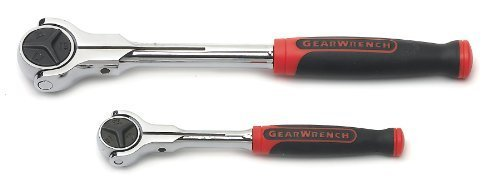 GearWrench 81223 2-Piece Cushion-Grip Roto Ratchet Set by (Cushion Grip Roto Ratchet)