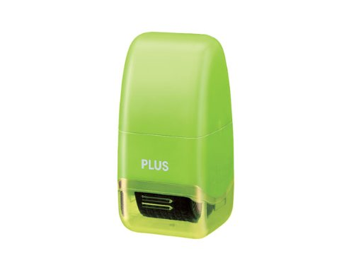(Plus Guard Your ID Mini Roller Stamp, Green)