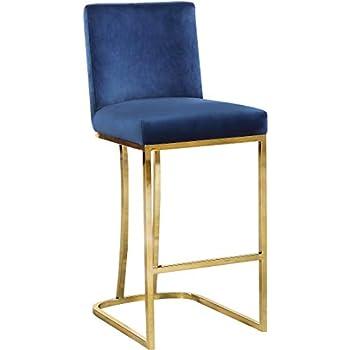 Amazon Com Tov Furniture Tov Bs23 Hart Velvet Stool Bar