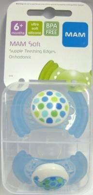 Amazon.com: MAM suave silicona última intervensión de BPA ...