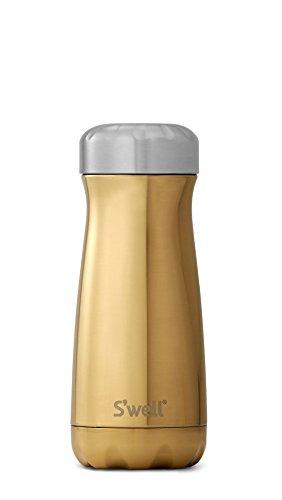 Swell 10316-B17-01270 Stainless Steel Travel Mug, 16oz, Yellow Gold
