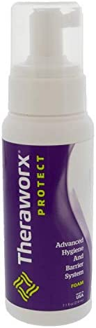 Theraworx Protect Advanced Hygiene and Barrier System Foam Large Bottle (7.1 ounces) - 1