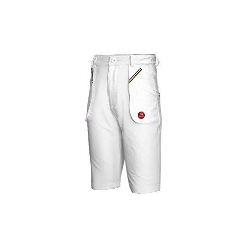 Kayiyasu ボーイズゴルフパンツ ゴルフウエア ジュニア ショートパンツ 夏ストレッチ スポーツパンツ 男の子用ズボン ゴルフ短パン 021-xsty-kuz034(XL(150cm) ホワイト )