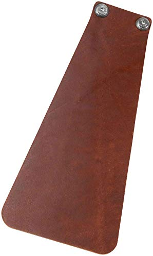 Velo Orange Handcut Long Leather Mud flap for Fender: -