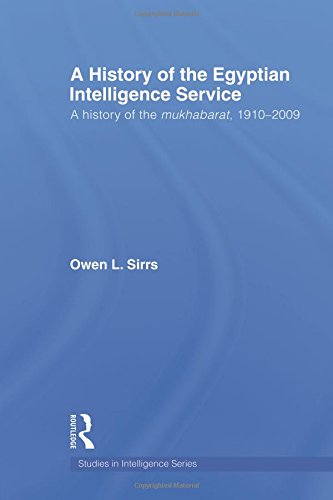 The Egyptian Intelligence Service: A History of the Mukhabarat, 1910-2009 (Studies in Intelligence)
