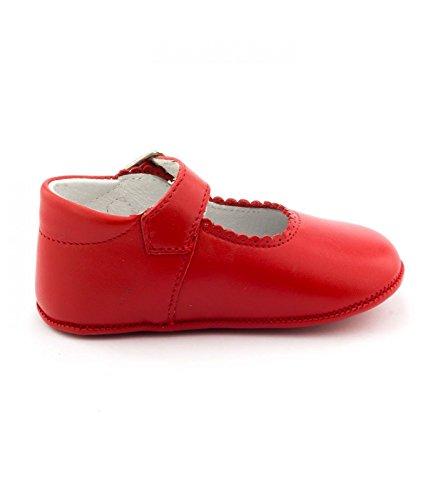 Boni Classic Shoes, Mädchen Hausschuhe Rot