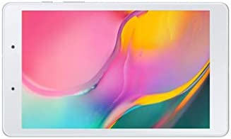 "Samsung Galaxy Tab A 8.0"" 32 GB WiFi Tablet Silver (2019)- SM-T290NZSAXAR (Renewed)"