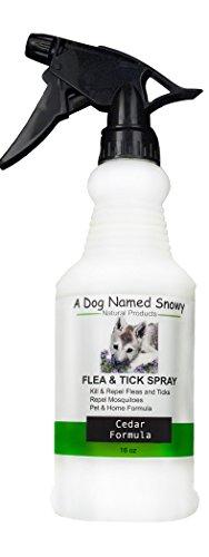 A Dog Named Snowy Flea And Tick Spray Natural Cedar Essential Oil Control 16 oz by A Dog Named Snowy