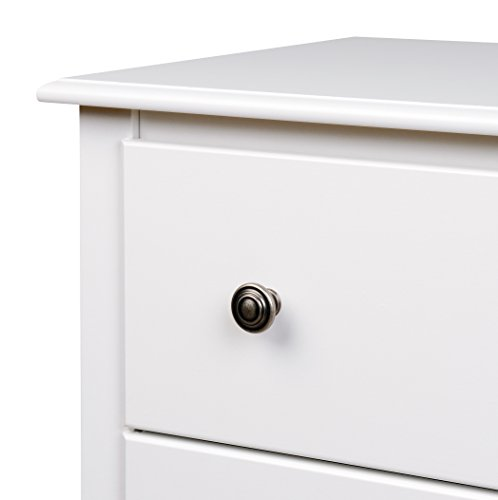 Bedroom Prepac Monterey 6 Drawer Dresser, White