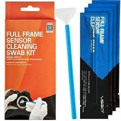 UES VSGO Camera Sensor Cleaning Swab Type 3 (VSGO DDR23) for Full-Frame Camera Sensor (CCD/CMOS): Package of 10 X 24mm Cleaning Swabs by VSGO