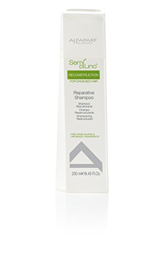 Price comparison product image AlfaParf Semi Di Lino Reconstruction Reparative, Shampoo, 8.45 Ounce