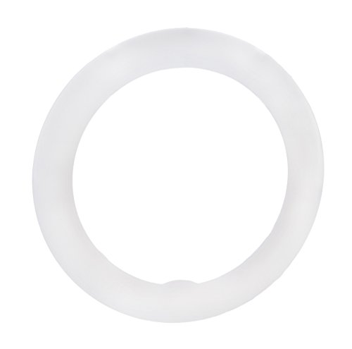 18 inch Ring Light Snap-on Diffuser - White Resin Diffusion - Softens Light for 18 inch Ring Lights
