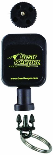 Gear Keeper RT5-5802 Micro Key/Tool Retractor with Threaded Stud Mount, 50 lbs Breaking Strength, 2.5 oz Force, 36