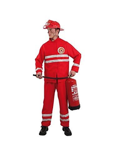 DISBACANAL Disfraz de Bombero para Hombre - -, XL: Amazon.es ...