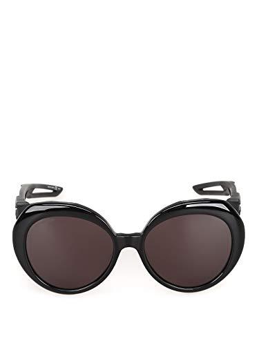 Luxury Fashion | Balenciaga Woman BB0024S004 Black Acetate Sunglasses | Season Permanent