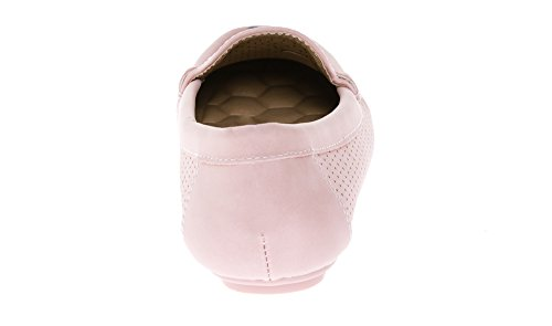 Women's Flats KIKI Loafers Mocassins Comfort Pink On CALICO Shoes Slip SpBqF