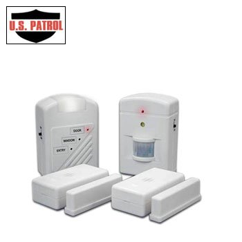 Amazon.com : U.S. PATROL 2655 3 STATION HOME ALARM SYSTEM ...