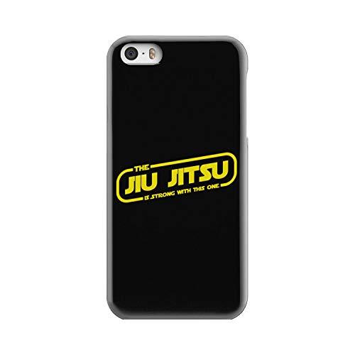 Superhero Gear The Jiu Jitsu is Strong with This One BJJ Brazilian Jiu Jitsu Phone Case (iPhone 5S)